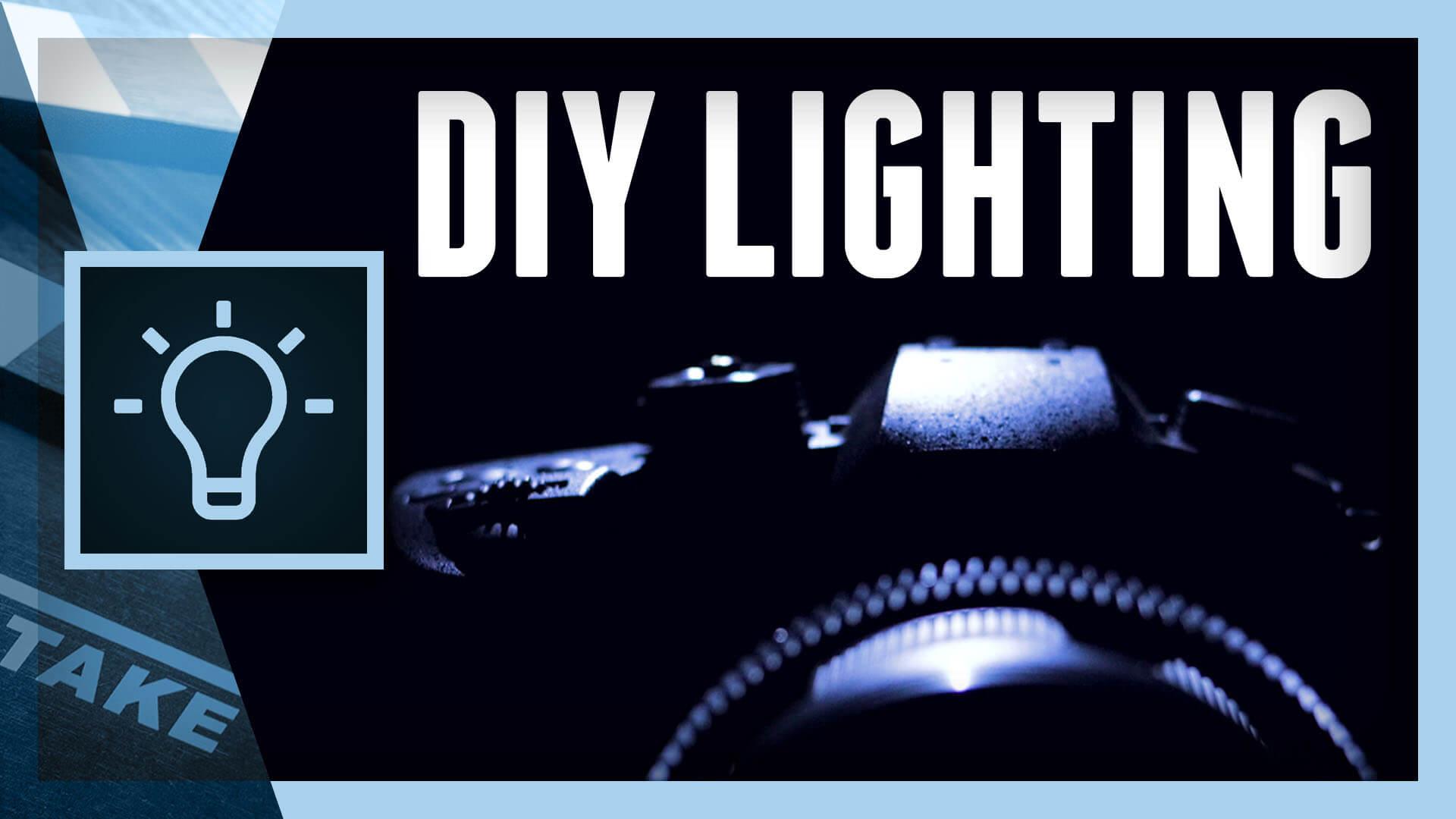 DIY Lighting: Product Reveal in Dark Studio   Cinecom.net